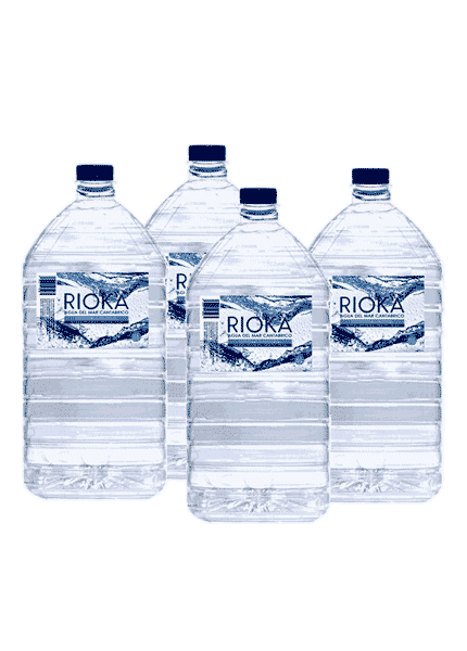 Pack 4 garrafas agua do mar isotonica