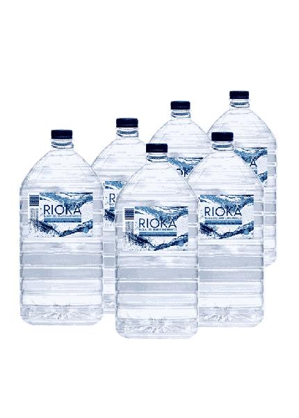 Pack 6 garrafas agua do mar isotonica