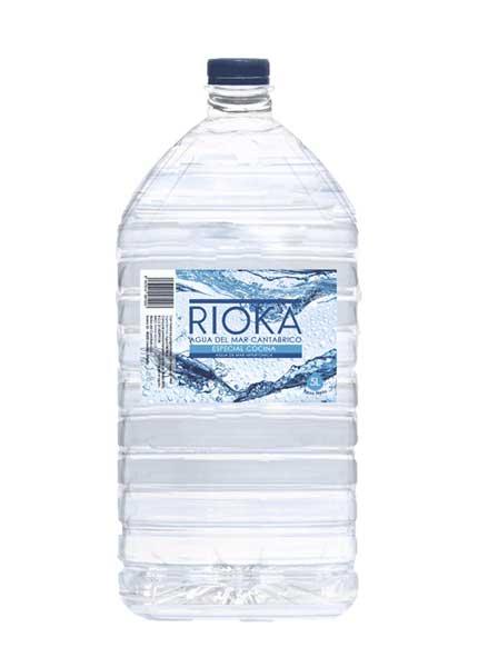 Água do mar para cozinhar hipertónica 5 litros